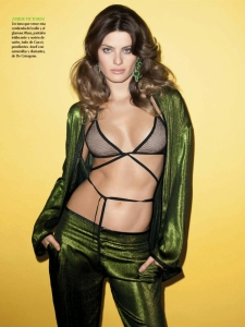 Isabeli Fontana By Terry Richardson For Vogue Mexico June 2014 (6)