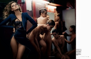 Maryna Linchuk By Vincent Peters For Vogue Russia December 2013 (7)