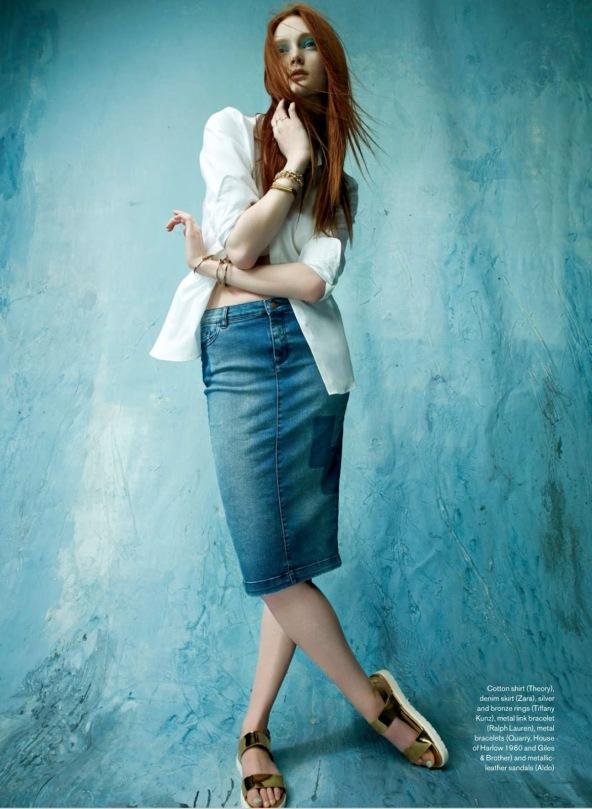 Sophie Touchet By Neil Mota For Elle Canada July 2014 (5)