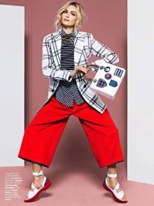 Valentina Zelyaeva By J.R. Duran For Vogue Brazil June 2014 (7)