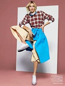 Valentina Zelyaeva By J.R. Duran For Vogue Brazil June 2014