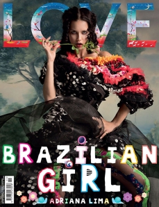 Adriana Lima & Christy Turlington by Inez & Vinoodh for Love No.12 F.W 2014 (2)