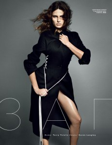Isabeli Fontana By Terry Tsiolis For Vogue Russia August 2014 (1)