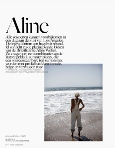 Aline Weber By Annemarieke Van Drimmelen For Vogue Netherlands July 2014 (1)