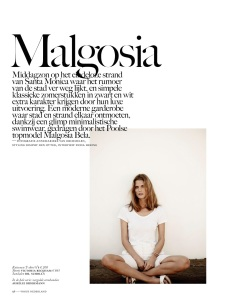 Malgosia Bela By Annemarieke Van Drimmelen For Vogue Netherlands July 2014 (1)