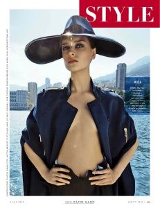 Daga Ziober By Wayne Maser For Vanity Fair Italia 3rd September 2014