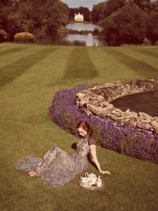 Karen Elson By Jon Gorrigan For Stylist Uk 12th September 2014 (2)