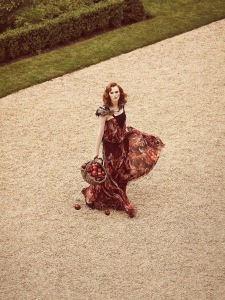 Karen Elson By Jon Gorrigan For Stylist Uk 12th September 2014 (3)