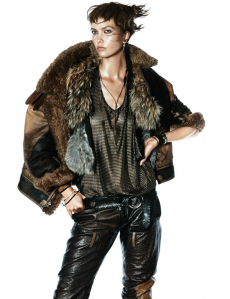 Karlie Kloss By David Sims For Vogue Paris October 2014 (1)