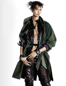 Karlie Kloss By David Sims For Vogue Paris October 2014 (2)
