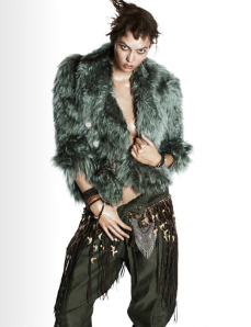 Karlie Kloss By David Sims For Vogue Paris October 2014 (3)