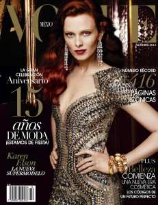 Karen Elson By Alexi Lubomirski For Vogue Mexico October 2014