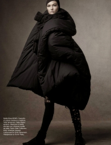 Karlie Kloss, Lexi Boling, Sasha Pivovarova, Coco Rocha & Aymeline Valade by Steven Meisel for Vogue Italia October 2014 (1)