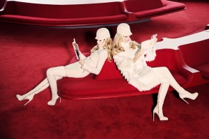 Stina Rapp Wastenson And Frida Aasen By Ellen Von Unwerth For Vogue Japan December 2014 (6)