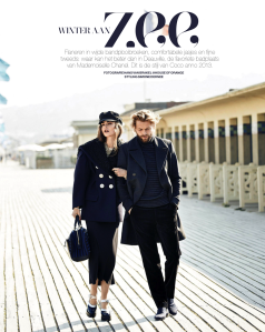 Valeriane Le Moi And Rein Langeveld By Hans Van Brakel For Marie Claire Netherlands December 2013 (2)