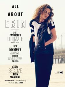Erin Wasson By David Mandelberg For Elle Australia December 2013 (3)
