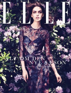 Maria Palm by Oliver Stalmans (Elle Denmark August 2012) 1