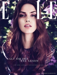 Maria Palm by Oliver Stalmans (Elle Denmark August 2012) 2