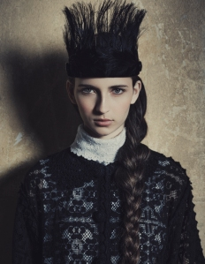 Waleska Gorczevski By Jacques Dequeker For Vogue Brazil July 2014 (1)
