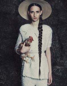 Waleska Gorczevski By Jacques Dequeker For Vogue Brazil July 2014 (2)