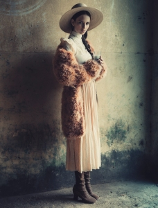 Waleska Gorczevski By Jacques Dequeker For Vogue Brazil July 2014 (3)