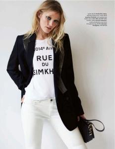 Emily Baker By Pierre Toussaint For Elle Australia December 2014 (3)