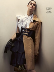 Manon Leloup By Toby Knott For Stylist #074 18th December 2014 (2)
