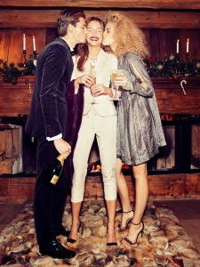 Sanna, Valentina And Alexander By Andrea Olivo For Vanity Fair Italia 27th December 2013 (2)
