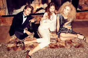 Sanna, Valentina And Alexander By Andrea Olivo For Vanity Fair Italia 27th December 2013 (3)