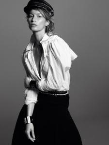Anna, Gisele, Anja, Edie, Julia, Natasha, Aymeline, Liu, Karlie + More By David Sims For Vogue Paris February 2015 (3)