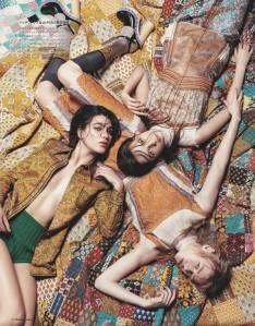 Anna Grostina, Steffy Argelich And Maria Veranen By Sofia Sanchez & Mauro Mongiello For Numéro Tokyo March 2015 (2)