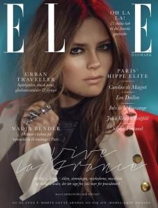 Caroline Brasch Nielsen By Signe Vilstrup For Elle Denmark February 2015 (1)
