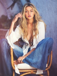Gigi Hadid by David Bellemere for GUESS Spring 2015 Campaign (13)