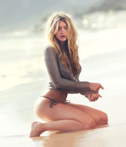 Gigi Hadid by David Bellemere for GUESS Spring 2015 Campaign (8)