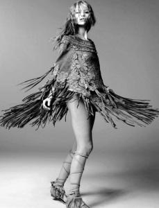 Hollie May Saker By Steven Meisel For Vogue Italia January 2015 (2)