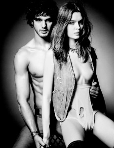 Josephine Skriver & Marlon Teixeira by Tom Munro for Lui Magazine December January 2013-2014 (2)