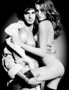 Josephine Skriver & Marlon Teixeira by Tom Munro for Lui Magazine December January 2013-2014 (3)