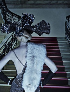 Lara Stone, Molly Bair And Tyson Ballou By Steven Klein For Vogue Italia January 2015 (2)