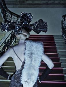 Lara Stone, Molly Bair And Tyson Ballou By Steven Klein For Vogue Italia January 2015 (2)