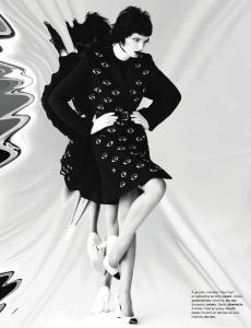 Lily Donaldson By Billy Kidd For Numéro #148 November 2013 (3)