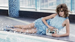 Lindsey Wixson, Binx Walton by Karl Lagerfeld for Fendi Spring Summer 2015 (4)