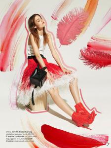 Rijntje Van Wijk By Mark Pillai For Elle Australia December 2013 (3)