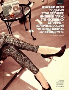 Amber Heard by Ellen von Unwerth for GQ Russia December 2014 (4)
