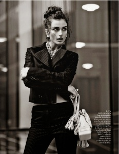 Andreea Diaconu By Mariano Vivanco For Vogue Spain October 2013 (4)