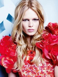 Anna Ewers By Karl Lagerfeld For Numéro #161 March 2015 (1)