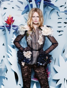 Anna Ewers By Karl Lagerfeld For Numéro #161 March 2015 (12)