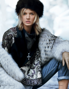 Daria Strokous By Patrick Demarchelier For Vogue Russia November 2013 (3)