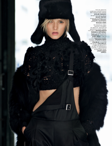 Daria Strokous By Patrick Demarchelier For Vogue Russia November 2013 (4)