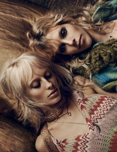 Eilika Meckbach, Lili Sumner, Georgia Himler by Mikael Jansson for Interview Magazine March 2015 (2)