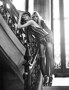 Eilika Meckbach, Lili Sumner, Georgia Himler by Mikael Jansson for Interview Magazine March 2015 (3)
